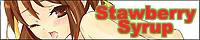 Strawberry syrup すとろべりーしろっぷ